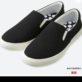 ユニクロ(UNIQLO)の【新品】UNIQLO×マリメッコ  靴(スリッポン/モカシン)