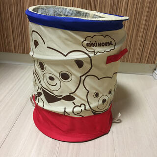 mikihouse - ●ミキハウス●収納ケース おもちゃケース●美品 非売品