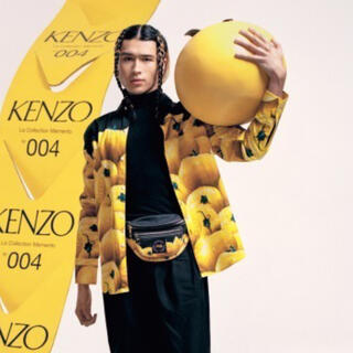 ケンゾー(KENZO)のKENZO 黄色トマト柄 シャツ 未着用 クリーニング済(シャツ)