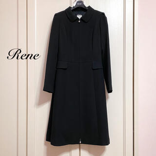 ルネ(René)の【Rene】2019年襟付ワンピースコート(ひざ丈ワンピース)