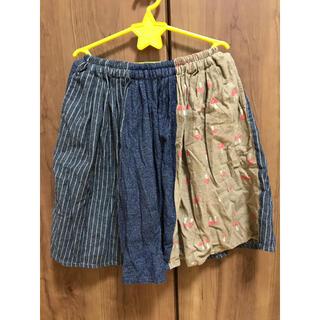 ニードルワークスーン(NEEDLE WORK SOON)のNEEDLE WORKS☆きのこプリントギャザースカート120cm(スカート)