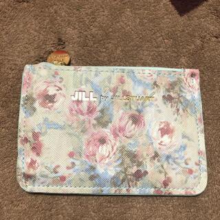 ジルバイジルスチュアート(JILL by JILLSTUART)のMORE2020年8月号付録 ジルバイジルスチュアート花柄ミニ財布(財布)