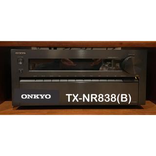 オンキヨー(ONKYO)のTX-NR838(B) 4K アトモス ハイレゾ対応 7.1ch AVアンプ(アンプ)