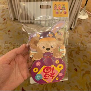 ダッフィー(ダッフィー)の香港ディズニー新商品 ダッフィーフレンズ 春節ポチ袋6枚セット(キャラクターグッズ)