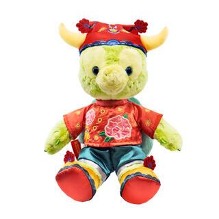 ダッフィー(ダッフィー)の香港ディズニー新商品 春節オルメル ぬいぐるみ SSサイズ(ぬいぐるみ)