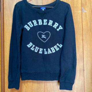 バーバリーブルーレーベル(BURBERRY BLUE LABEL)のバーバリーブルーレーベル スウェット トレーナー(トレーナー/スウェット)