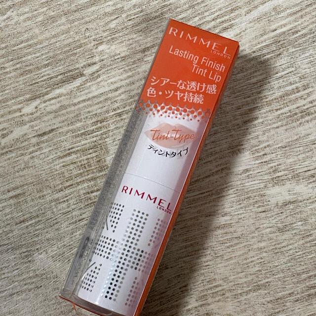 RIMMEL(リンメル)の【未使用】RIMMEL ラスティングフィニッシュ ティントリップ 103 コスメ/美容のベースメイク/化粧品(口紅)の商品写真