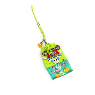 ダッフィー(ダッフィー)の香港ディズニー新商品 オルメル 春節お守り 携帯ストラップ(キャラクターグッズ)