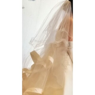 ベール ショート ALPHABLANCA(ウェディングドレス)