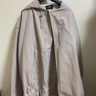 ジルサンダー(Jil Sander)のfterhomework jacket with abstract hood(テーラードジャケット)