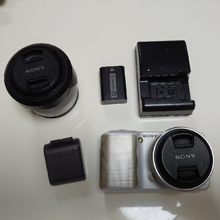ソニー(SONY)の一眼レフカメラ NEX-3(デジタル一眼)