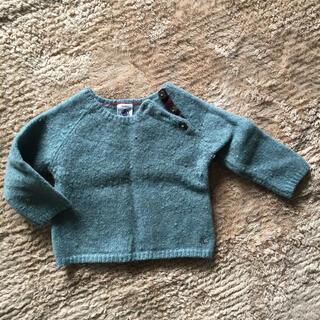 プチバトー(PETIT BATEAU)の【プチバトー】セーター 80(ニット/セーター)