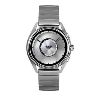 エンポリオアルマーニ(Emporio Armani)のエンポリオアルマーニ 新品 メンズ スマートウォッチ(シルバー)(腕時計(デジタル))