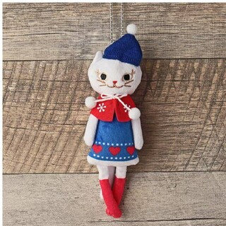 KALDI - カルディ クリスマス くたくた白ネコちよゃん