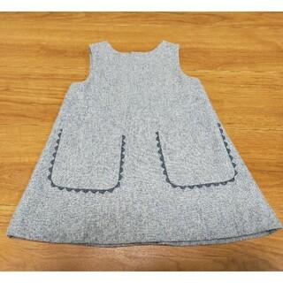 Jacadi - ジャカディ jacadi  ジャンパースカート ワンピース 18M /81