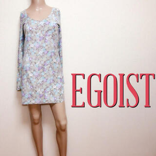 エゴイスト(EGOIST)の極美くびれ♪エゴイスト バックシャン カットワンピース♡リゼクシー デュラス(ミニワンピース)