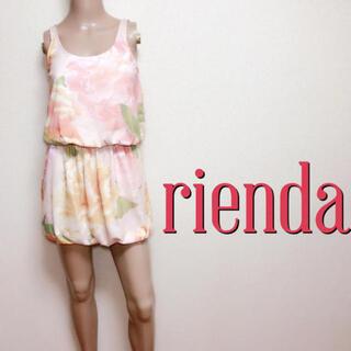 rienda - 爆安♪リエンダ きれいめローズ バルーンワンピース♡デュラス リゼクシー