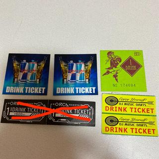 クラブのドリンクチケット(名古屋)(クラブミュージック)