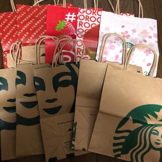 スターバックスコーヒー(Starbucks Coffee)のスターバックス  ショップ袋(ショップ袋)