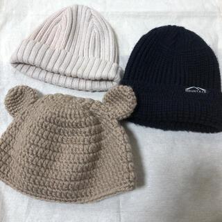 プチバトー(PETIT BATEAU)の帽子 4点セット(帽子)