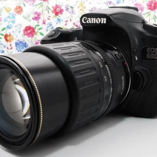 キヤノン(Canon)の【Wi-Fiセット★】Canon EOS 60D レンズ セット(デジタル一眼)