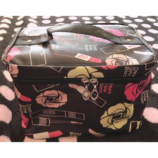 大容量化粧ポーチ メイクボックス 化粧品収納(メイクボックス)