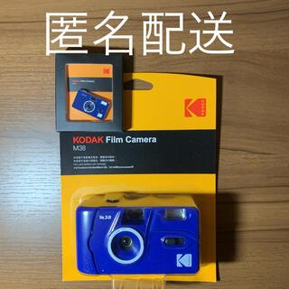 フジフイルム(富士フイルム)のコダック Kodak M38 フィルムカメラ クラシックブルー ピンバッジ付(フィルムカメラ)