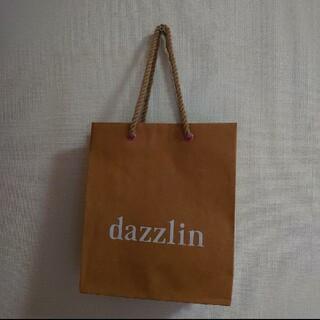 ダズリン(dazzlin)のdazzlin ショッパー(ショップ袋)