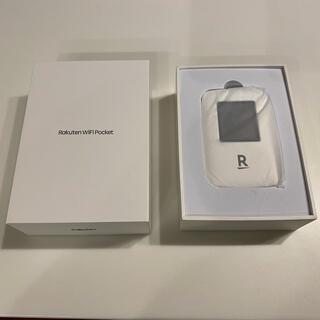 ラクテン(Rakuten)の楽天モバイルポケットWi-Fi モバイルルーター 白(その他)