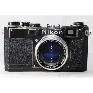 ニコン(Nikon)のNIKON S2 Black NIKKOR-S・C 1:1.4 F=5cm(フィルムカメラ)
