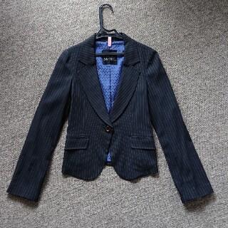 セシルマクビー(CECIL McBEE)のジャケット ストライプ(テーラードジャケット)