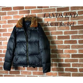 AVIREX - 【1点物・美品】LANDS END 高品質 フライトジャケット ダウンジャケット
