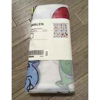 イケア(IKEA)の☆新品未使用☆ IKEA イケア シャワーカーテン 魚柄  (タオル/バス用品)