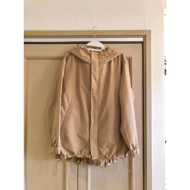 IENA(イエナ)のIENA  Pタフタ フーデットブルゾン◆ レディースのジャケット/アウター(ブルゾン)の商品写真