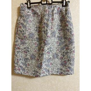 レトロガール(RETRO GIRL)の花柄スカート(ひざ丈スカート)