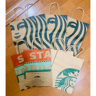 スターバックスコーヒー(Starbucks Coffee)のスタバの紙袋(ショップ袋)
