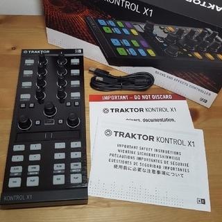 TRAKTOR KONTROL X1 MK2 & Bag1個のセット(DJコントローラー)