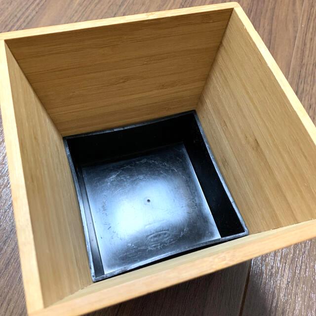 IKEA(イケア)のIKEA 竹製鉢カバー VILDAPEL ヴィルダペル インテリア/住まい/日用品のインテリア小物(バスケット/かご)の商品写真