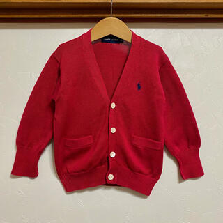 Ralph Lauren - 美品 ラルフローレン ニットカーディガン 80 90 カーディガン セーター