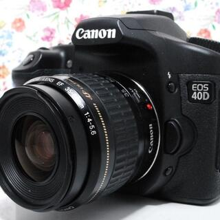 キヤノン(Canon)の◆Wi-Fiセット◆Canon EOS 40Dレンズセット(デジタル一眼)