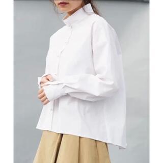 ハイク(HYKE)のCIROI チャスカスタンドカラーシャツ(シャツ/ブラウス(長袖/七分))