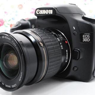 キヤノン(Canon)の【Wi-Fiセット!】キヤノン Canon 30D レンズセット(デジタル一眼)