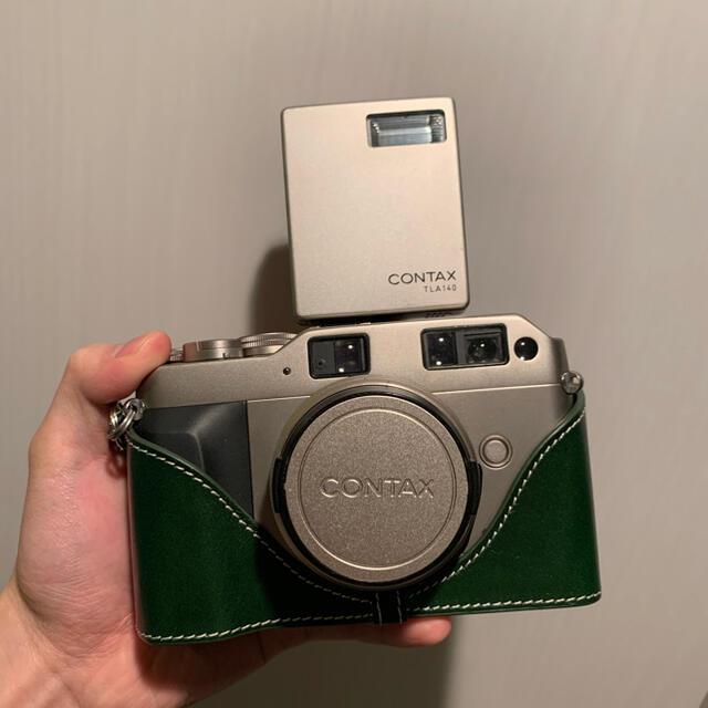 京セラ(キョウセラ)のCONTAX G1 フィルムカメラ カールツァイス 2.8/28動作確認  スマホ/家電/カメラのカメラ(フィルムカメラ)の商品写真
