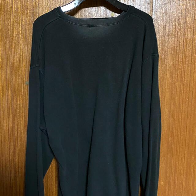 UNDERCOVER(アンダーカバー)の値下げUNDERCOVER スウェット Lサイズ ブラック メンズのトップス(スウェット)の商品写真
