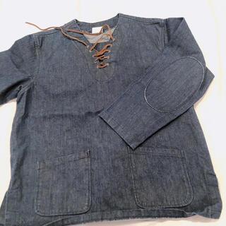 フリークスストア(FREAK'S STORE)のデニム トップス 美品(Tシャツ/カットソー(七分/長袖))