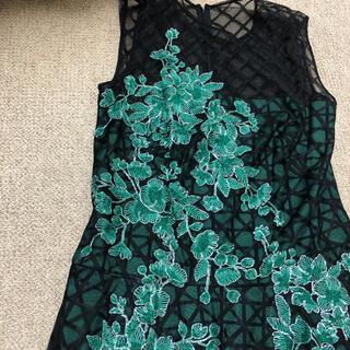タダシショウジ(TADASHI SHOJI)のタダシショージ美品ドレス6 アドーアお好きな方にも(ロングワンピース/マキシワンピース)