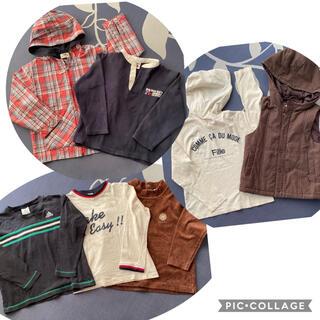 コムサイズム(COMME CA ISM)のドッグデプト、コムサ、アディダス など まとめ売り キッズ120 トップス7点(Tシャツ/カットソー)