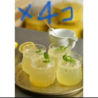 イッタラ(iittala)の新品 イッタラ フルッタ タンブラー レモン iittala Frutta 4コ(グラス/カップ)