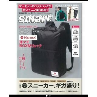 MARMOT - smart スマート 19年 6月号  Marmot 薄マチBOX型リュック