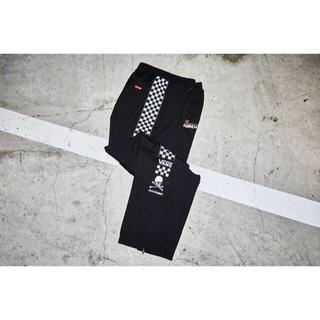 mastermind JAPAN & Vans Track Pants 黒白L